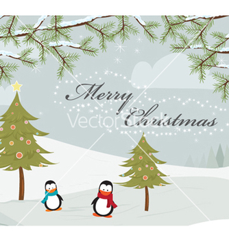 Free christmas greeting card vector - Free vector #261879