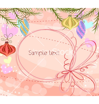 Free christmas background vector - бесплатный vector #261899