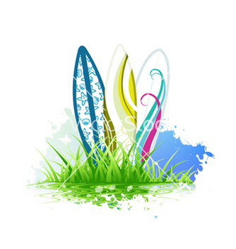 Free summer background vector - Kostenloses vector #262049