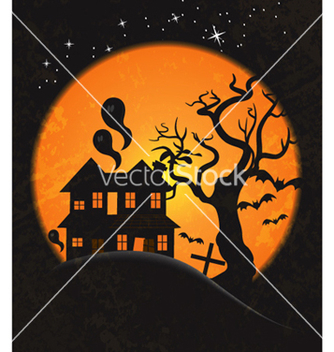 Free halloween background vector - Free vector #262069
