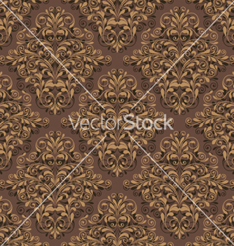 Free damask seamless pattern vector - бесплатный vector #262079