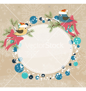Free winter frame vector - Free vector #262119
