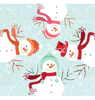Free winter background vector - vector #262129 gratis