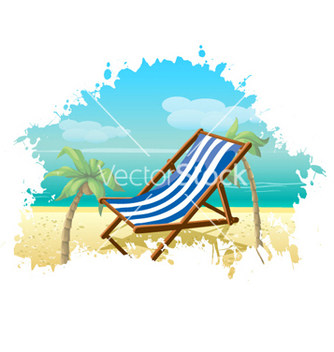 Free summer background vector - бесплатный vector #262299