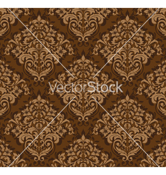 Free damask seamless background vector - бесплатный vector #262539