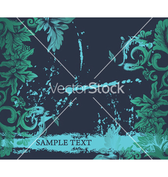 Free grunge decorative label vector - Kostenloses vector #262579