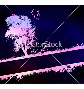 Free grunge background with tree vector - vector #262719 gratis
