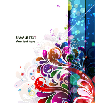 Free abstract colorful background vector - бесплатный vector #262779