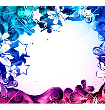 Free colorful abstract background vector - Kostenloses vector #262799