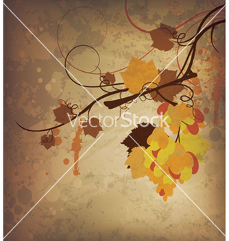 Free autumn grunge background vector - Free vector #263199