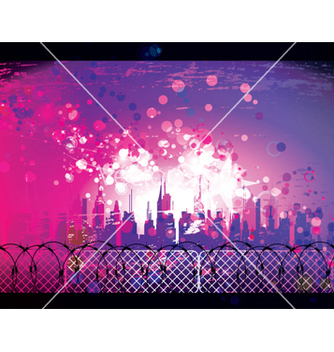 Free urban background vector - Free vector #263209