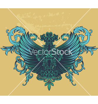 Free grunge decorative label vector - Free vector #263399