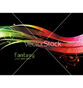 Free abstract fantasy background vector - Free vector #263499