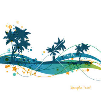 Free summer background vector - бесплатный vector #263869