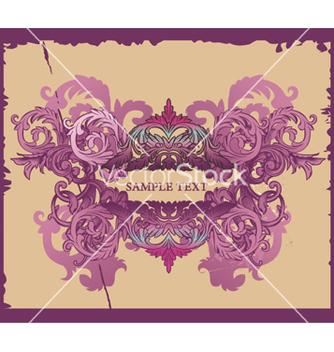 Free grunge decorative label vector - Free vector #264079