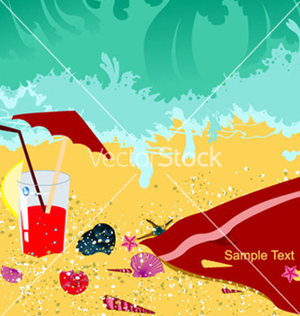 Free summer background vector - Free vector #264369