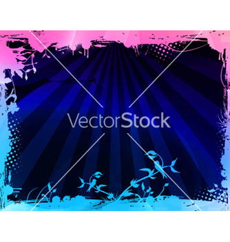 Free grunge background with rays vector - Free vector #264479