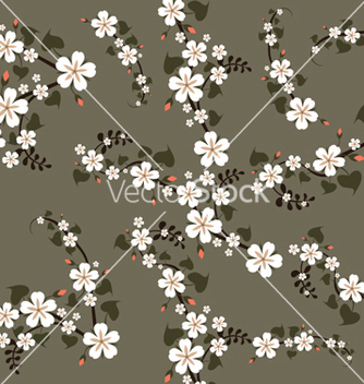 Free spring floral pattern vector - Free vector #264499