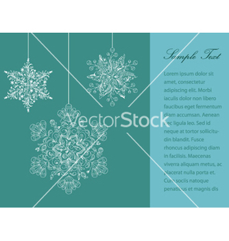 Free christmas greeting card vector - бесплатный vector #264679