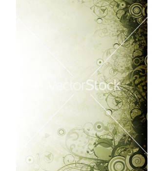 Free grunge floral background vector - vector #264759 gratis