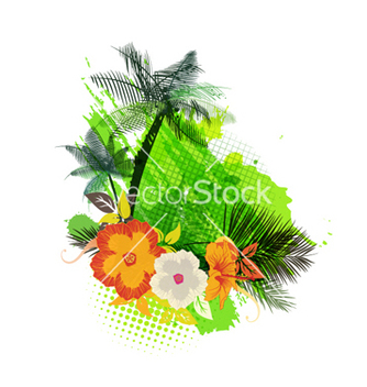 Free summer background vector - Free vector #264789