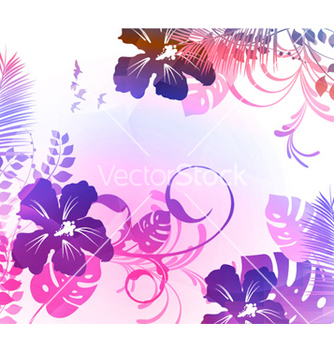 Free tropical summer background vector - Free vector #265039