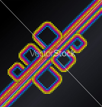 Free abstract disco background vector - Free vector #265049