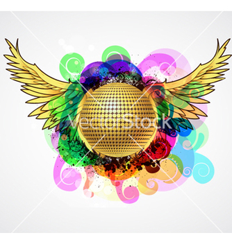 Free colorful music vector - Free vector #265459