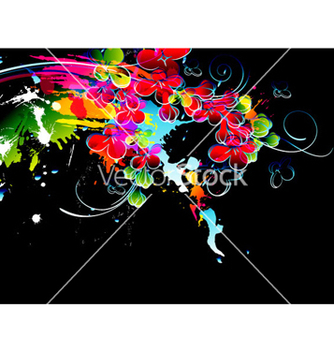 Free colorful splatter vector - Kostenloses vector #265799