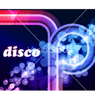 Free colorful disco background vector - Kostenloses vector #265829