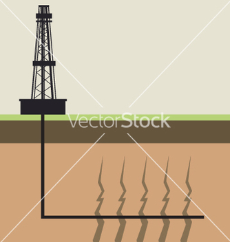 Free fracking diagram vector - Free vector #266819