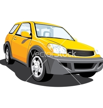 Free yellow crossover vector - vector gratuit #267359