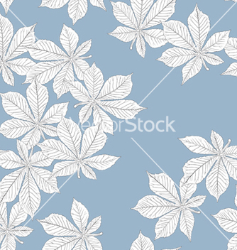 Free chestnut leaves seamless vector - Kostenloses vector #267409