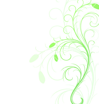 Free floral background abstract background with floral vector - vector gratuit #267459