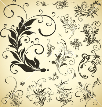 Free design ornament elements vector - Free vector #267469