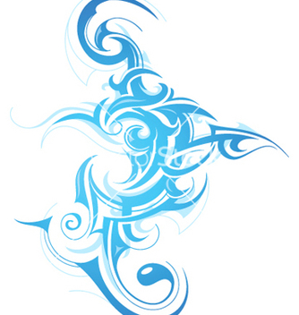 Free tribal tattoo vector - Free vector #267479