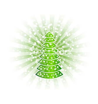 Free christmas tree vector - Free vector #267509
