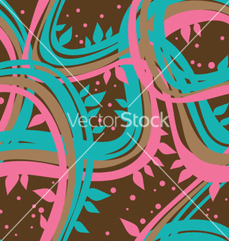 Free modern floral seamless pattern vector - Free vector #267609