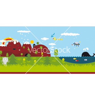 Free wonderland converted vector - Free vector #267779