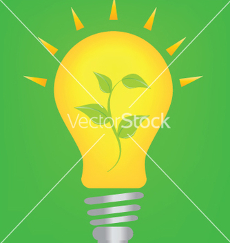 Free lightbulb and environmnet vector - vector gratuit #267859