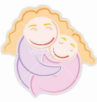 Free mommys girl vector - Free vector #268089