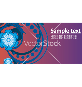 Free floral background vector - Free vector #268119