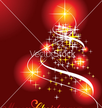 Free christmas tree vector - Free vector #268189