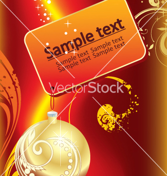 Free new year and for christmas vector - vector #268229 gratis