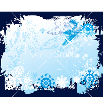 Free christmas border vector - Free vector #268339