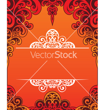 Free decorative frame vector - vector #268379 gratis