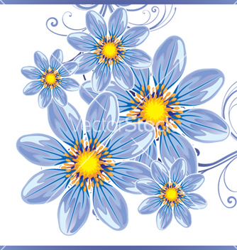 Free floral background vector - vector #268399 gratis