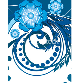 Free floral background vector - Free vector #268419