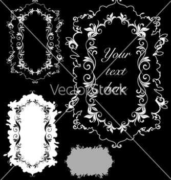 Free floral elements vector - Free vector #268449