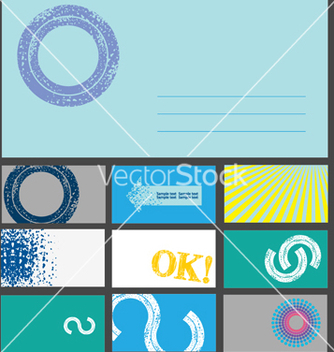 Free business cards vector - vector #268579 gratis